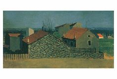 """Artdash® Decorative Fine Art Reproduction: """"Houses in Puteaux"""" By Felix Vallotton ArtDash® http://www.amazon.com/dp/B00TXEFCZ2/ref=cm_sw_r_pi_dp_pto7ub1X5FMDJ"""