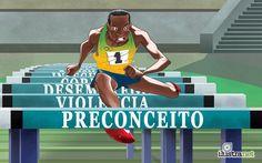 Série de ilustrações críticas e irônicas sobre as Olímpiadas no Brasil - Ilustrar é muito mais que simplesmente desenhar em uma folha de papel (ou na tela de um computador).  Muitos ilustradores usam suas habilidades tam...