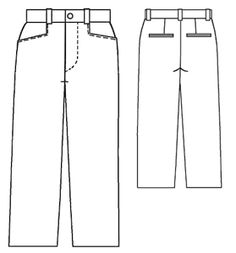 free pattern - #6062 Grey pants