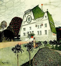 Residential house  (1907)   Otto Schöntalmore works by this artist