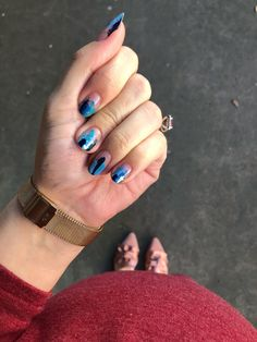 Baby Watch Nail ArtBeauty Nail Art foil julep nail art negative space