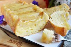 Банановый пирог со сметанной заливкой