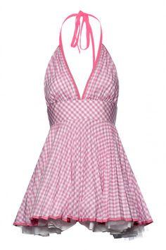 Jones and Jones Sarah Pink Gingham Dress