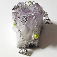 974161c528df Bracelet h p les reliques vert argenté féérique vintage idée cadeau miss  perles