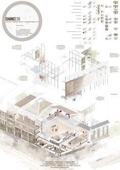 The RIBA President's Medals Student Awards - Chance15 – The Carpenters And Highstreet Agency For Negotiating Change In E15 by Marianne Howard / The University of Sheffield Sheffield UK