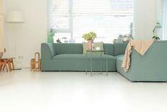houten vloer wit schilderen, vloer verven, histor, histor trapverf, kluswijzer, hoe moet je een vloer verven, wit, voor en na