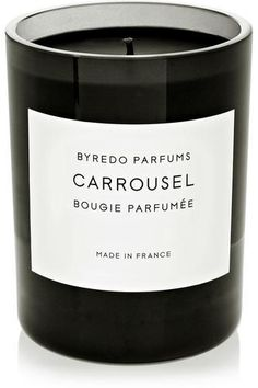 Carrousel scented candle #covetme #byredo