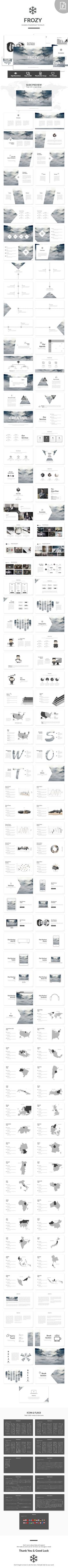 Frozy - PowerPoint Template - Business PowerPoint Templates