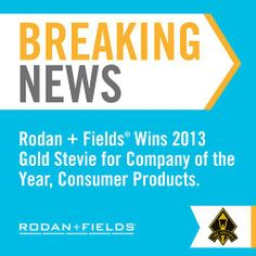 Rodan & Fields Dermatologists- This is just another award for a company that hasn't even gone international yet! Do you desire to change your financial future? Then join the team before we go world-wide! Click here: https://briesimmons.myrandf.biz/