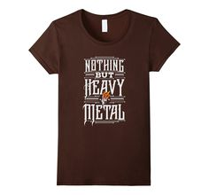 Cool Heavy Metal Music T-Shirt Nothing but Heavy Metal