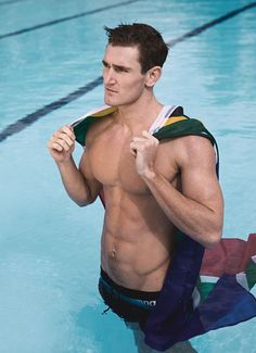 Women's Health, cameron van der burgh, PROUDLY MADE IN SOUTH AFRICA GOLD OLYMPICS