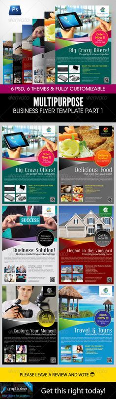 Multipurpose Business Flyer Template Part 1