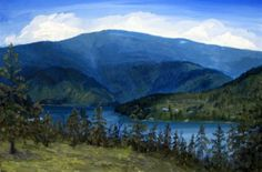 My IDAHO - Coeur d'Alene Lake - view from Beauty Bay