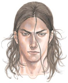 Kaim Argonar - Face - Pictures & Characters Art - Lost Odyssey