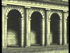 Tabularium no Foro romano. Reconstrución.