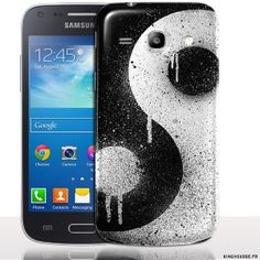 Coque de protection samsung core plus Ying Yang