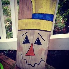 Diy scarecrow-  it's the perfect and *free* decor you can toss or keep