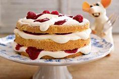 Kleine Käse-Himbeer-Torte Rezept  zu Ostern :)