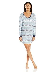 Tommy Hilfiger Women's V-Neck Sleepdress, Winter Fair Isl... https://www.amazon.com/dp/B01M26NH4S/ref=cm_sw_r_pi_dp_x_DMP7ybAQD29NS