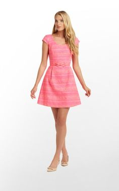 Rylan, absolutely love her.  The neon pink metallic boucle fabric is EVEN MORE gorgeous in person.