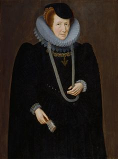 Portrait d'une femme, probablement Mary, Lady Scudamore, 1601 Marcus Gheeraerts le jeune