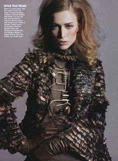 Missoni Fall 2008 Necklace and Allure Magazine