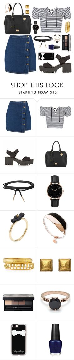 """""""Loners Blvd"""" by anishagarner ❤ liked on Polyvore featuring Boohoo, Topshop, Humble Chic, Marc by Marc Jacobs, Ashley Pittman, Gurhan, NARS Cosmetics, Casetify and OPI"""