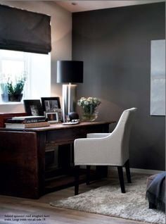 Slettvoll  Tastefully done... love this chair for a dining chair