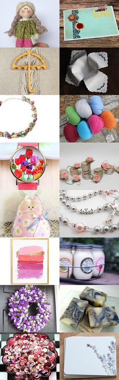 Fun Finds for Spring! by Nicole Fischer on Etsy--Pinned+with+TreasuryPin.com