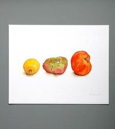 Heirloom Tomato Print