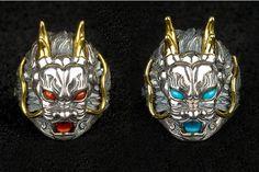 Chinese Dragon Gem Embellished Ring