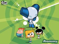 Robotboy is terrific 2000 Cartoons, Old Cartoons, Old Cartoon Network, Blue Haired Girl, Childhood Tv Shows, Robot Art, Childhood Memories, Growing Up, Sonic The Hedgehog