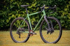 Paul's Shand Stooshie with a Lauf Grit Fork | The Radavist