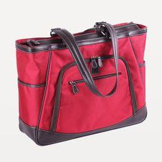 Sellwood XL womens 17 laptop bag green tea front