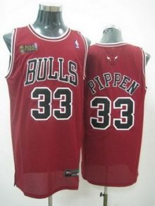 Chicago Bulls 33 PIPPEN red jerseys Wholesale Cheap