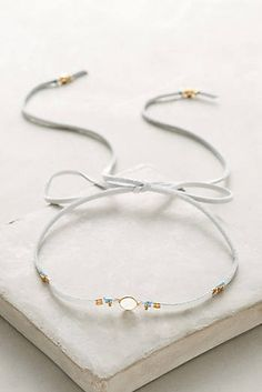 Moonstone Choker Necklace