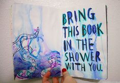 shower wtj wreck this journal | best stuff