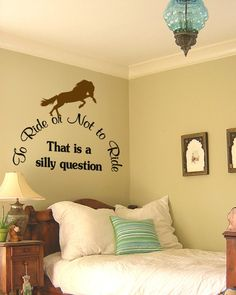 Over the bed country decal