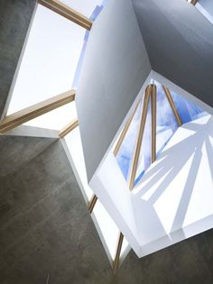 Mecenat Art Museum Naf Architect, museum architecture, natural lighting, concrete architecture, japan, exhibition space