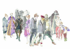 Csongor és Tünde, Mihály, Vörösmarty, costume design by: Letícia Bartos