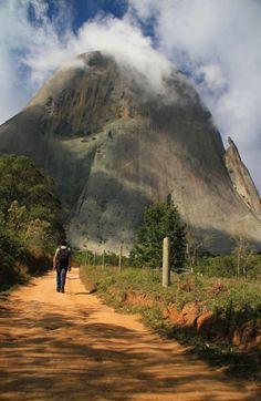 Parque Estadual da Pedra Azul, nas Serras Capixabas (foto:  Eduardo Vessoni) Brazil