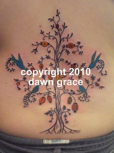 Tree Of Life Tattoos For Women | www.dawngrace.com | Flickr - Photo Sharing!