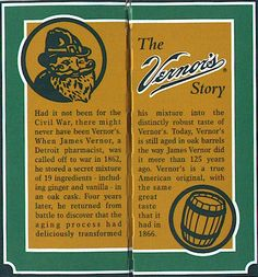 Now here is something you do not see around Kansas, unless you want to pay big bucks.  I love Vernors and it is so cheap in Michigan.  It is ginger ale.  It spells summertime to me.  What is the name of the little elf?  Help me out here...