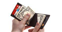 Ультратонкий кошелек Dun Wallet Black купить