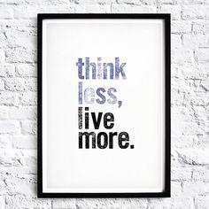« Citation du jour ✨ #thinkless #livemore #quotes #life #enjoy #chill #easy #delight #love #sweet #citation #cestlavie»
