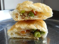 What's For Dessert Today: Homemade Chicken Vegetable Puff Pastry