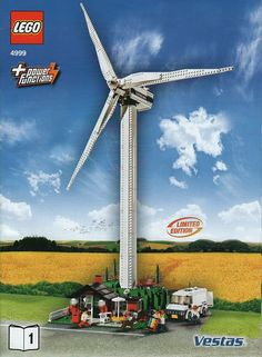4999-1: Vestas Wind Turbine | Brickset: LEGO set guide and database