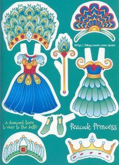 """종이인형 (프린세스) : 네이버 블로그* 1500 free paper dolls international artist Arielle Gabriel""""s The International Paper Doll Society for pinterest paper doll pals *"""