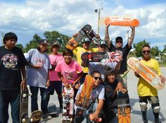 Indianz.Com > Lakota Country Times: Skate competition grows at Pine Ridge