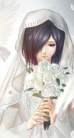 Tokyo Ghoul Touka wedding
